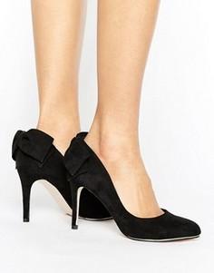Туфли-лодочки с бантом Miss KG Coral - Черный
