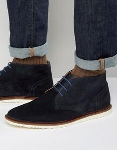 Замшевые ботинки чукка KG By Kurt Geiger - Синий