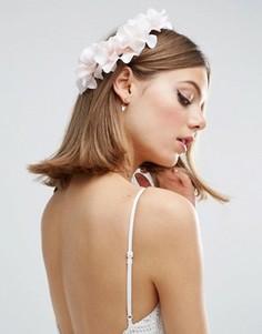 Заколка для волос с мягким цветком ASOS - Розовый