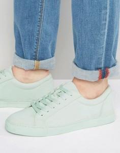 Кроссовки на шнуровке ASOS - Зеленый