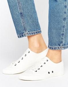 Кроссовки на шнуровке ASOS DAISY CHAIN - Бежевый