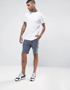 Длинная футболка и трикотажные шорты скинни ASOS - СКИДКА - Мульти