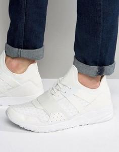 Белые кроссовки с резиновой отделкой ASOS - Белый