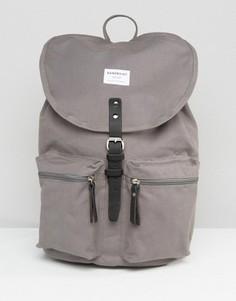Серый рюкзак Sandqvist Roald - Серый
