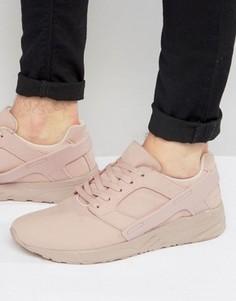 Розовые кроссовки из искусственной замши с резиновыми вставками ASOS - Розовый