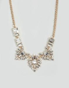 Броское ожерелье-воротник Nylon - Золотой