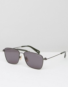 Квадратные солнцезащитные очки G-Star Faeroes - Серебряный