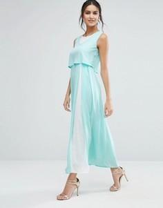 Платье макси с кроп-топом Jovanna Eternity - Зеленый Jovonna