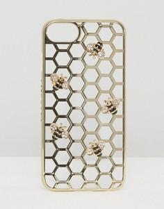 Чехол для iPhone 7 с пчелами Skinnydip - Мульти