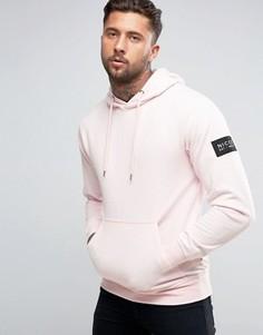 Худи с логотипом-нашивкой на рукаве Nicce London - Розовый