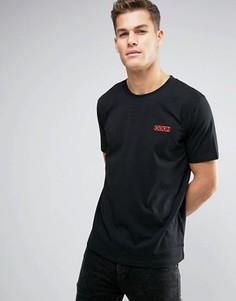 Черная узкая футболка с логотипом HUGO by Hugo Boss Durned - Черный