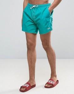 Зеленые шорты для плавания BOSS By Hugo Boss Lobster - Зеленый
