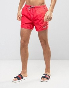 Красные шорты для плавания BOSS By Hugo Boss Lobster - Красный