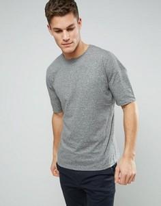 Фактурная футболка D-Struct - Серый