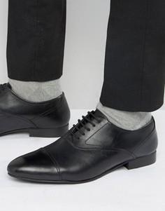Кожаные оксфордские туфли KG Kurt Geiger Anthony - Черный