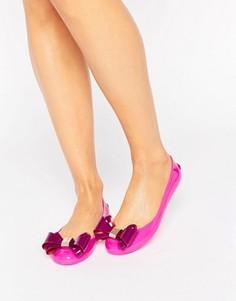 Балетки с ярко-розовым бантом Ted Baker Julivia - Розовый