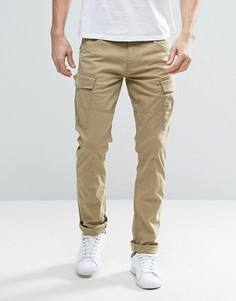 Узкие брюки карго Esprit - Stone
