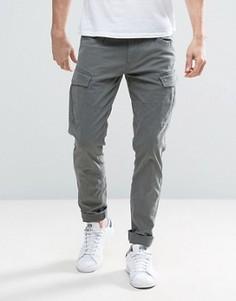 Узкие брюки карго Esprit - Серый
