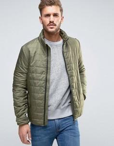 Легкая стеганая куртка Only & Sons - Зеленый