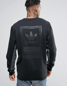 Свитшот с круглым вырезом adidas Skateboarding Toolkit BJ8727 - Черный