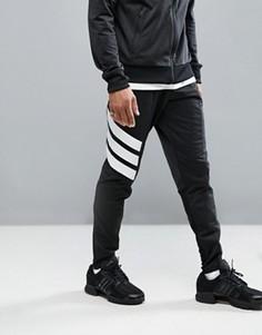 Черные джоггеры скинни adidas Tango AZ9709 - Черный