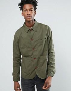 Куртка Selected Homme Worker - Зеленый