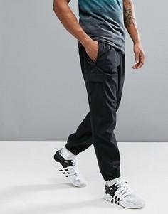 Черные джоггеры на манжетах с боковыми карманами adidas ZNE B46965 - Черный