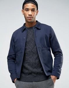 Куртка из саржи Selected Homme - Синий