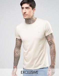 Серая меланжевая футболка эксклюзивно для Farah - Серый