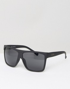 Квадратные солнцезащитные очки Quay Australia Barnun - Черный
