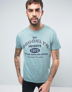 Премиум-футболка Brave Soul - Синий