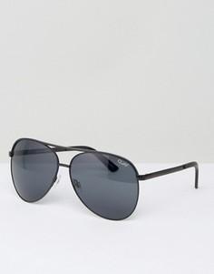 Солнцезащитные очки-авиаторы Quay Australia Vivienne - Черный