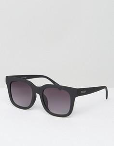 Черные квадратные солнцезащитные очки Quay Australia - Черный