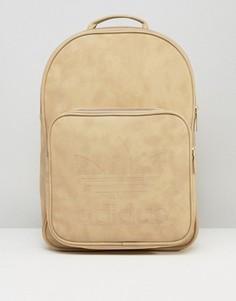 Классический рюкзак цвета светлого хаки adidas Originals BK7051 - Рыжий