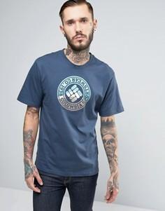 Серая футболка с логотипом Columbia Tried & True - Серый