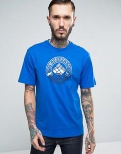 Синяя футболка с логотипом Columbia Tried & True - Синий