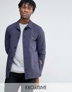 Хлопковая тренерская куртка Noak - Темно-синий