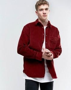 Вельветовая рубашка Nudie Jeans Co Calle - Красный