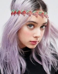 Украшение для волос ограниченной серии с клубничками - Красный Asos