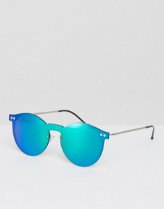 Круглые солнцезащитные очки Spitfire - Зеленый