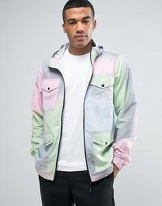 Легкая куртка с принтом тай-дай Heros Heroine - Розовый