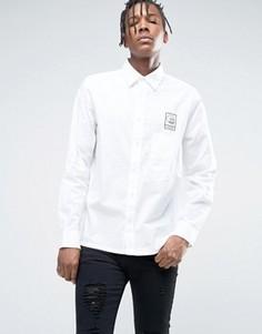 Рубашка в клетку Cheap Monday - Белый