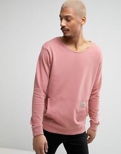Свитшот с большим карманом Redefined Rebel - Розовый