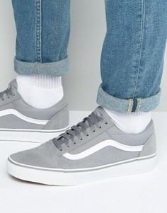 Серые кроссовки Vans Old Skool VA31Z9M4D - Серый