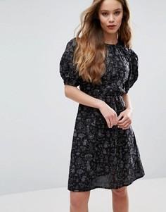 Платье с муми-троллями Ivana Helsinki Piia - Темно-синий