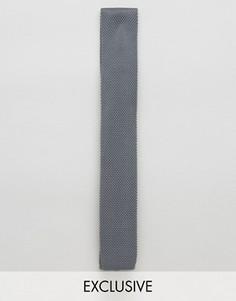 Вязаный галстук Noose & Monkey - Серый