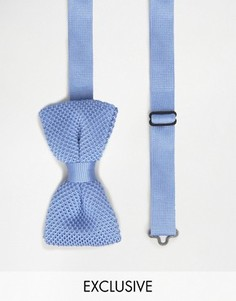 Вязаный галстук-бабочка Noose & Monkey - Синий