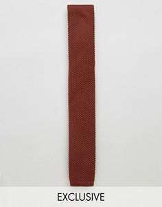 Вязаный галстук Noose & Monkey - Коричневый