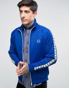 Синяя спортивная куртка Fred Perry Sports Authentic - Синий
