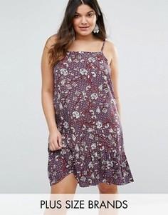 Платье с цветочным принтом Diya Plus - Мульти